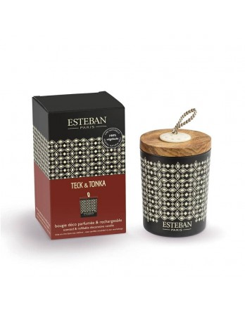 Esteban Classic scented candle Triptyque Teck & Tonka