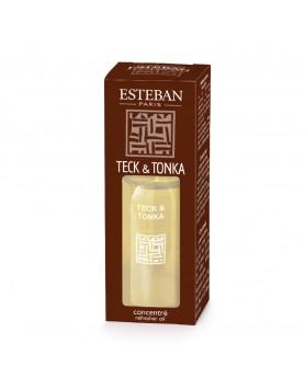 Esteban Classic Teck & Tonka Essential Oil - 15 ml