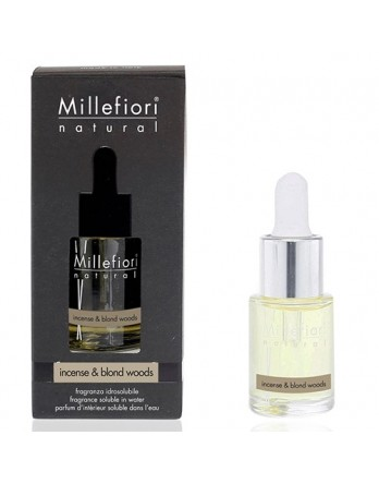 Millefiori essental oil / hydro oil Incense & Blond Woods 15ML