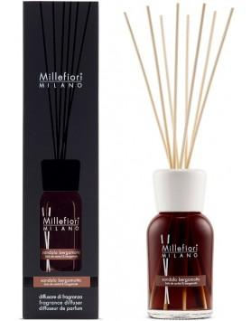 Millefiori Natural stick diffuser Sandalo Bergamotto - 250ml