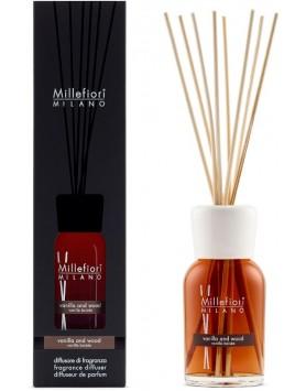 Millefiori Milano stick diffuser Vanilla & Wood - 250ml