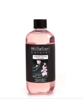 Millefiori Natural refill stick diffuser Magnolia & Wood