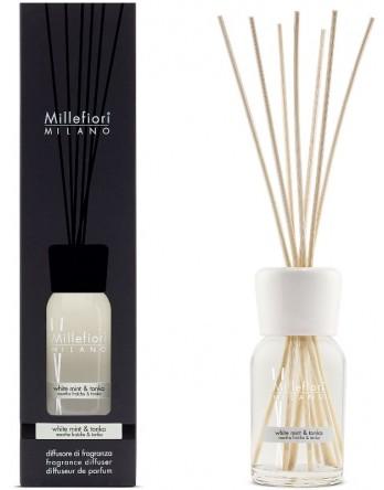 Millefiori Milano stick diffuser White Mint & Tonka 100ml