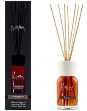 Millefiori Milano stick diffuser Vanilla & Wood - 100ml