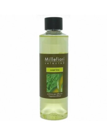 Millefiori Selected refill stick diffuser Sweet Lime 250ml