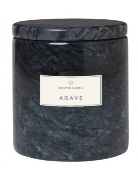 Blomus Frable Agave scented candle marble magnet