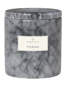 Blomus Frable Tonga scented candle marble sharkskin