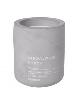 Blomus Fraga scented candle concrete L sandelwood - myrrh