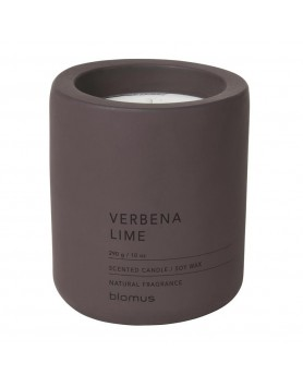 Blomus Fraga scented candle concrete L verbena lime